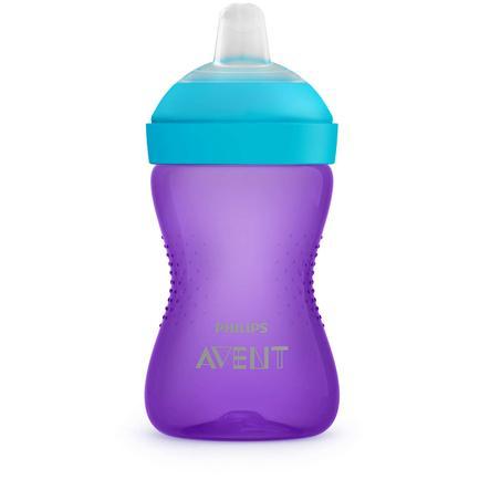 Philips Avent pohár zobáku SCF802 / 02 300 ml fialová / modrá od 9. měsíce