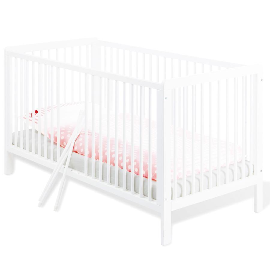 Pinolino Lit bébé Lenny 70 x 140, blanc