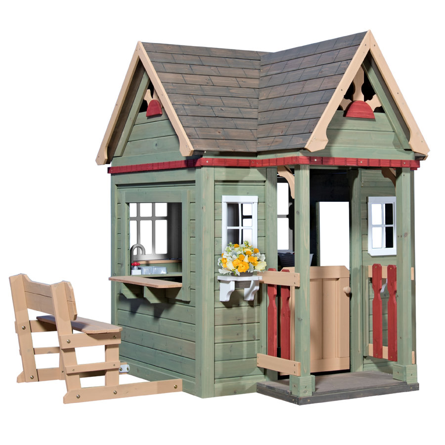Backyard Maison cabane de jardin enfant Discovery Victorian Inn bois