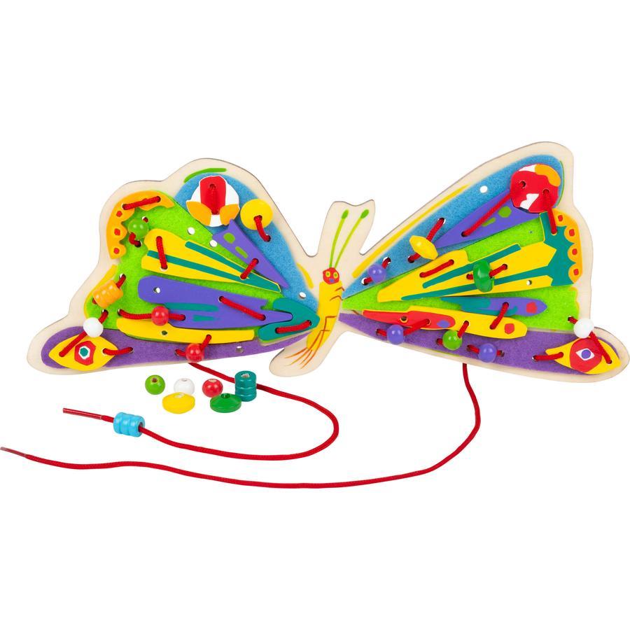 small foot®Gioco creativo con filo e perline, Bruco Maisazio