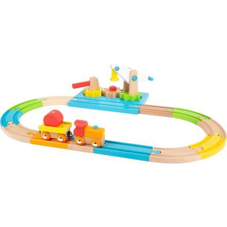 small foot  ® Gru ferroviaria in legno Junior