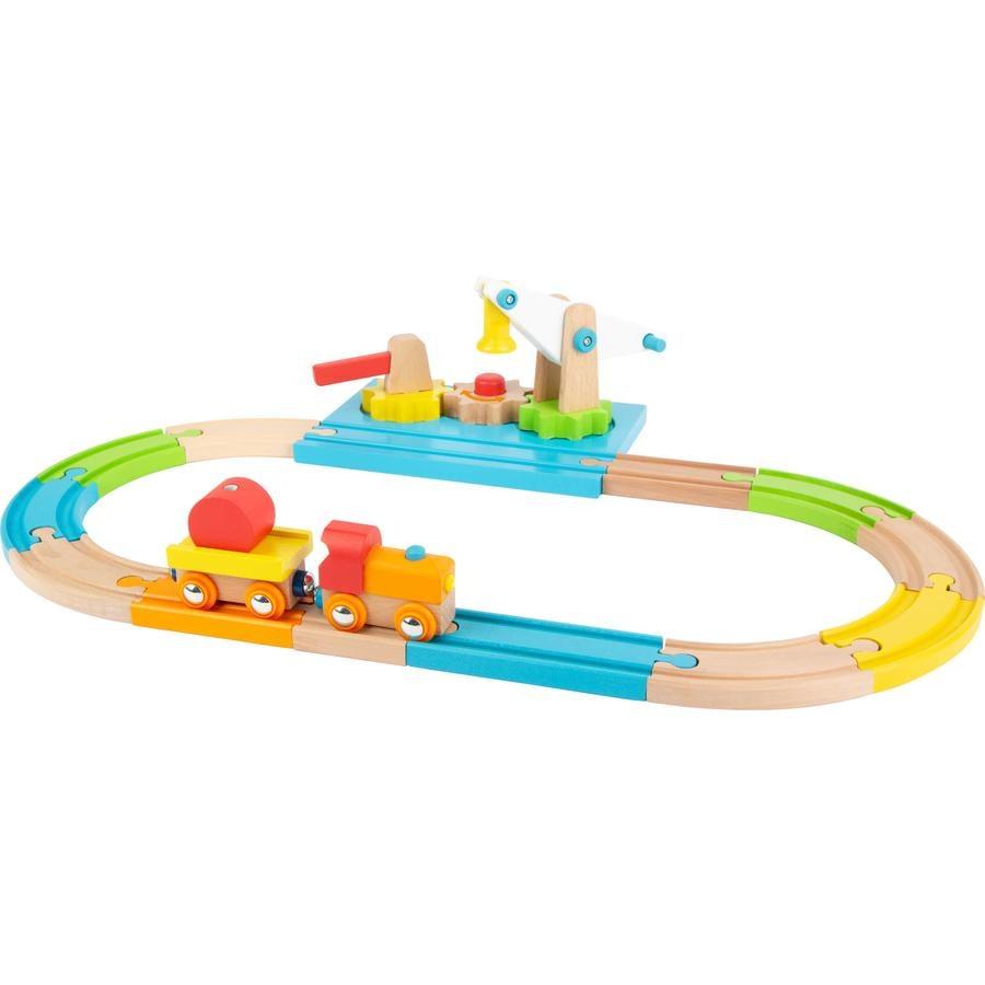 small foot  Grúa ferroviaria de madera Junior