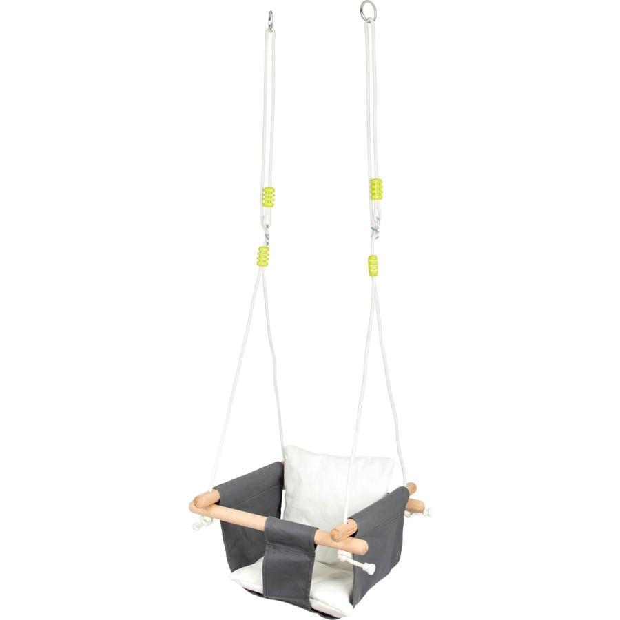 small foot® Siège bébé balançoire Confort bois