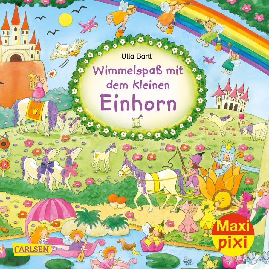 CARLSEN Maxi Pixi 318: Wimmelspaß mit dem kleinen Einhorn