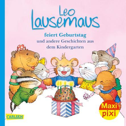 CARLSEN Maxi Pixi 322: Leo Lausemaus feiert Geburtstag