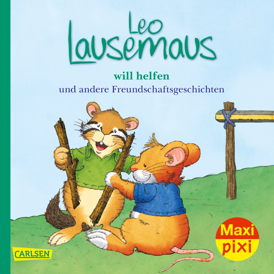 CARLSEN Maxi Pixi 323: Leo Lausemaus will helfen