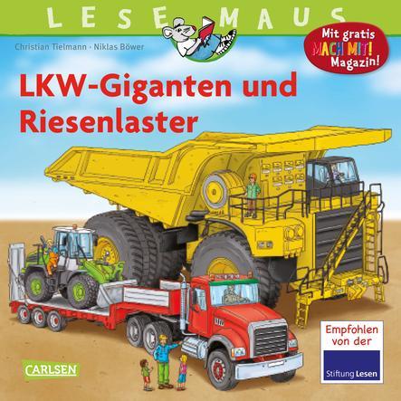 CARLSEN Lesemaus 159: LKW-Giganten und Riesenlaster