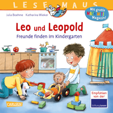 CARLSEN Lesemaus 194: Leo und Leopold - Freunde finden im Kindergarten