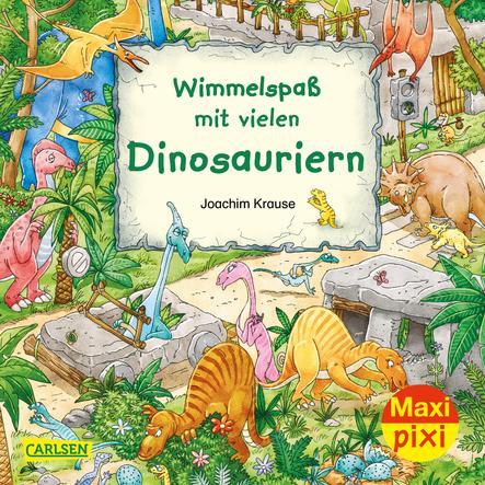 CARLSEN Maxi Pixi 337: Wimmelspaß mit vielen Dinosauriern