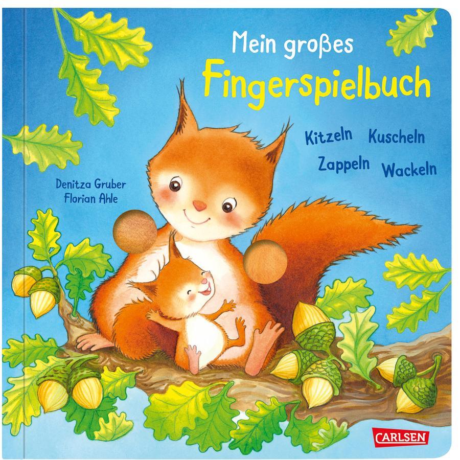 CARLSEN Mein großes Fingerspielbuch: Kitzeln, Kuscheln, Zappeln, Wackeln