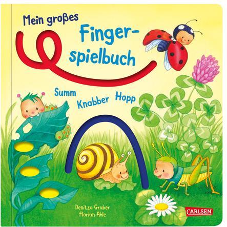 CARLSEN Mein großes Fingerspielbuch: Summ, knabber, hopp!