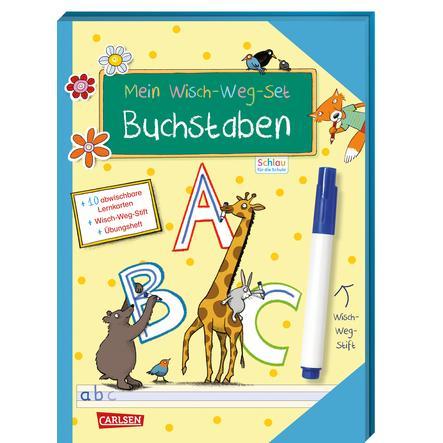 CARLSEN Schlau für die Schule: Mein Wisch-Weg-Set - Buchstaben