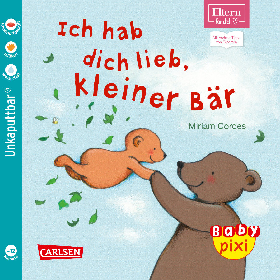 CARLSEN Baby Pixi: Ich hab dich lieb, kleiner Bär