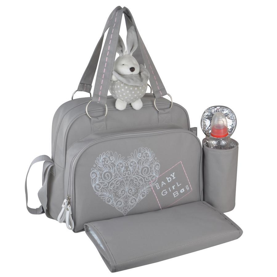 weaff Diaper bag Love and Romance Grey