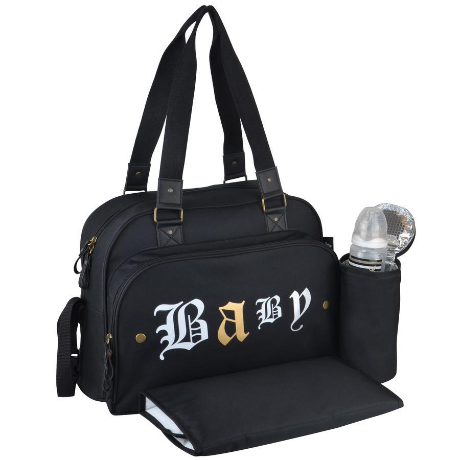 weaff Diaper väska Premium Rock Black