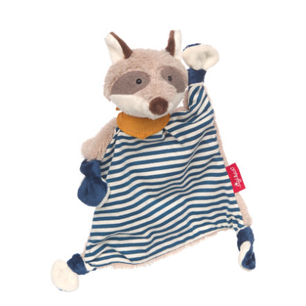 sigikid® Snuffeldoek wasbeer, blauw