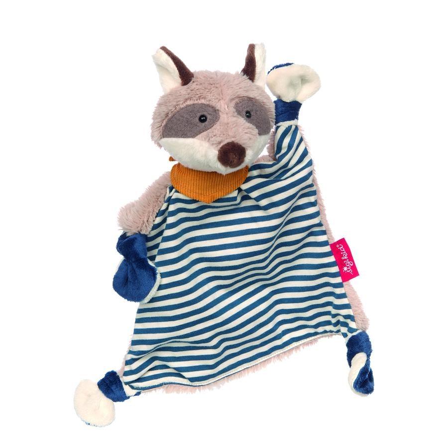 sigikid ® Schnuffeltuch tvättbjörn, blå