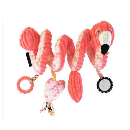 LES DEGLINGOS® Activity-Spirale Flamingos der Flamingo
