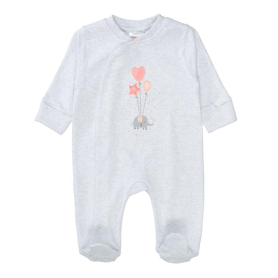 STACCATO  Pyjama 1pc. light stone melange