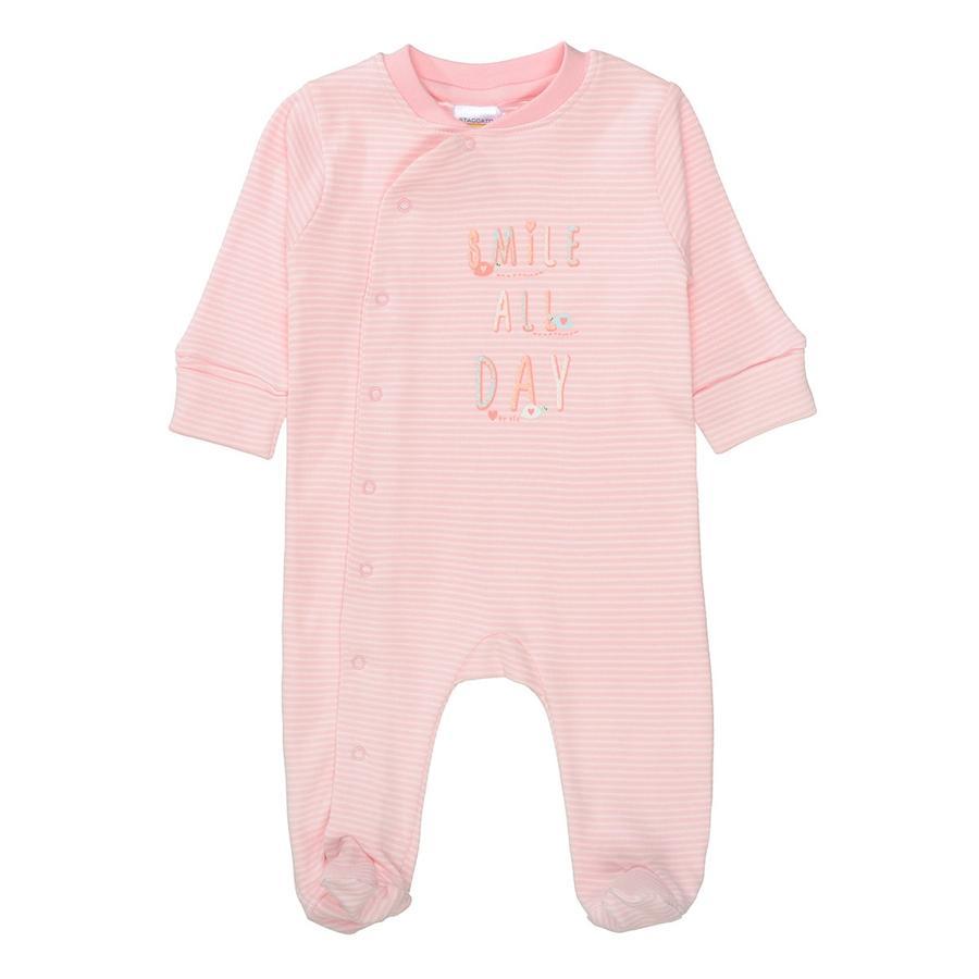 STACCATO Pajama 1ks. růžové pruhované