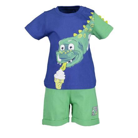 BLUE SEVEN 2er Set T-Shirt + Shorts Ocean