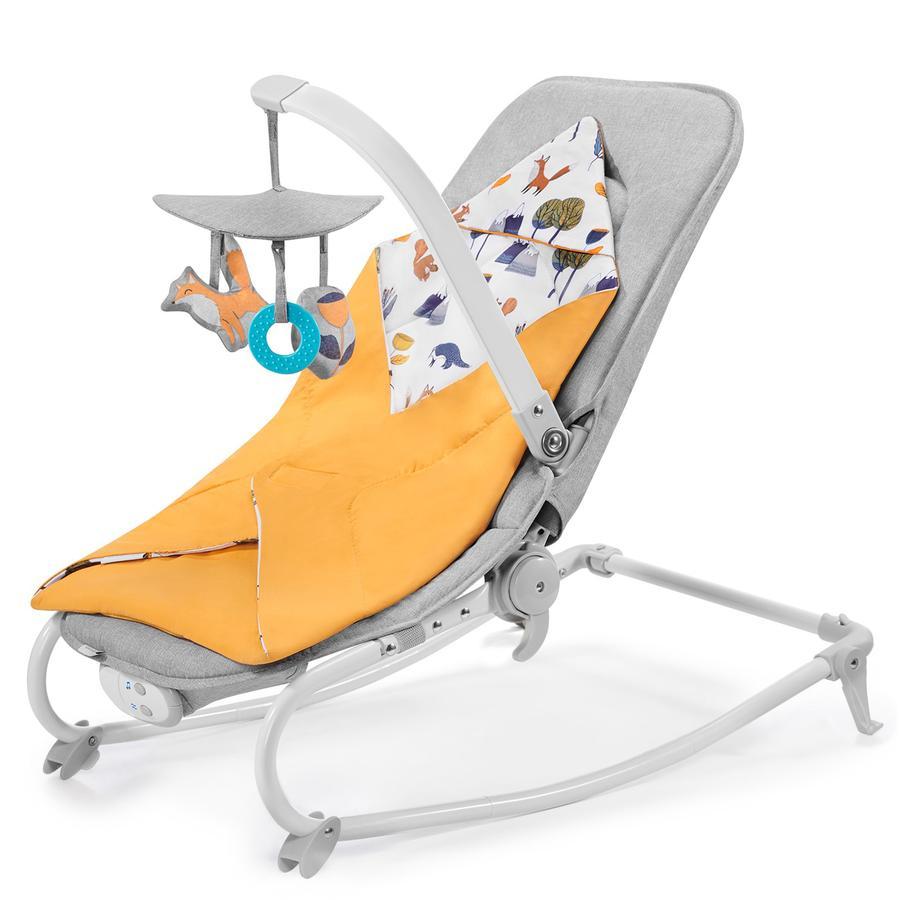 Kinderkraft Baby bouncer Felio Forest Yellow