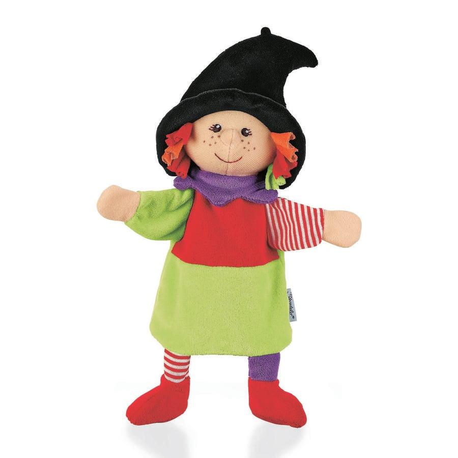 Sterntaler Les enfants font des marionnettes de sorcière