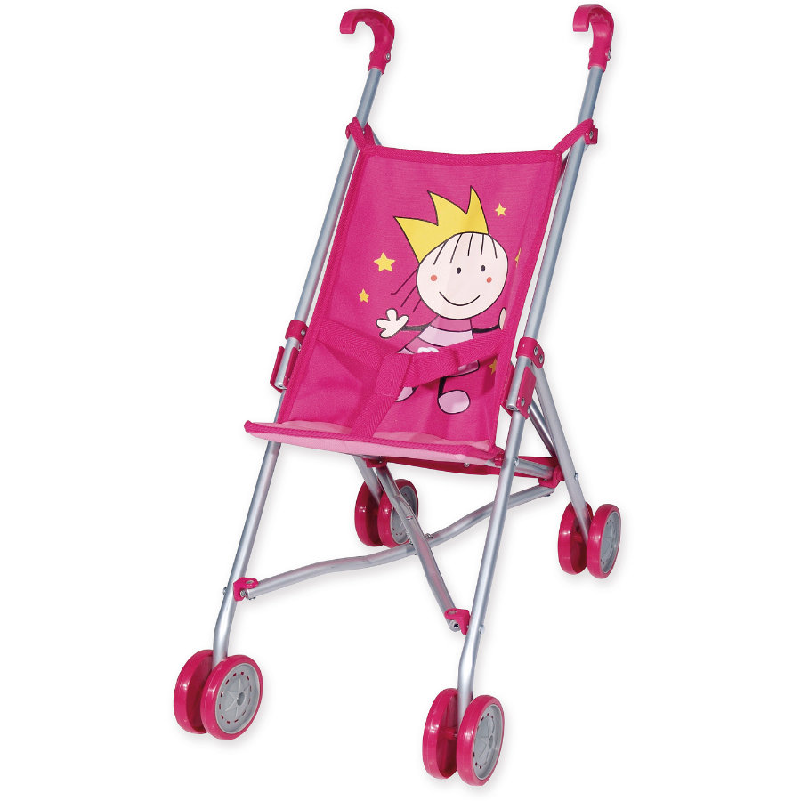 bayer Design Puppenbuggy Prinzessin, pink 30182AA