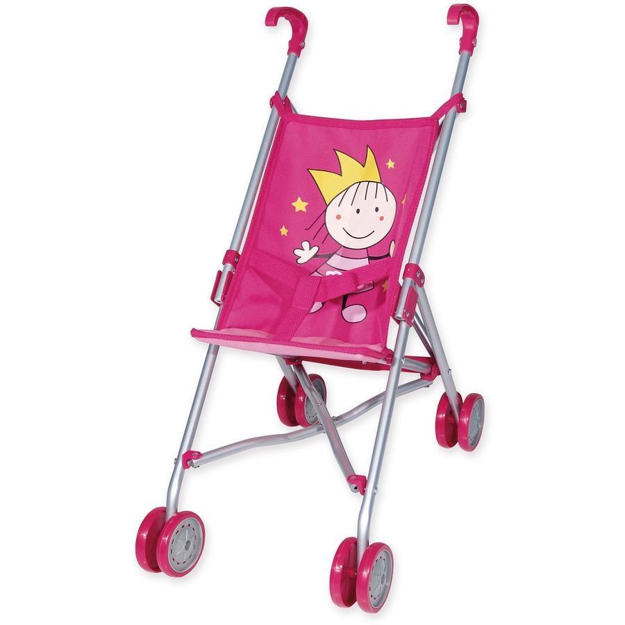 BAYER DESIGN Wózek spacerowy dla lalek Księżniczka kolor różowy