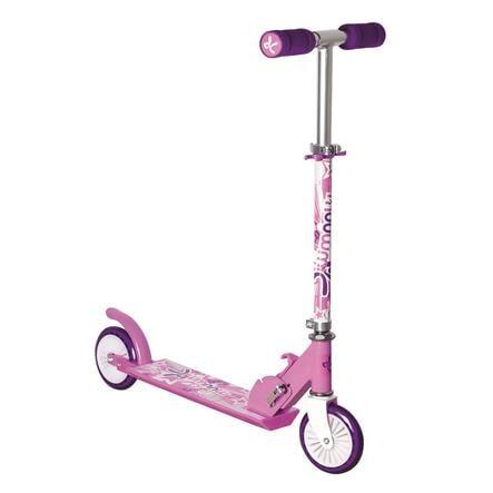 Globber Trottinette enfant 2 roues pliable Muuwmi alu 120 mm rose