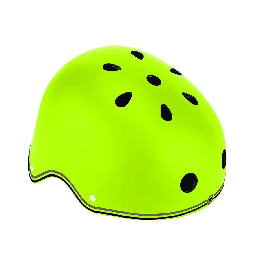 Globber Helm Primo Lights grün