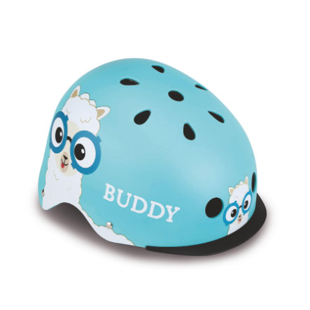Globber Helm Elite Lights Blue Buddy