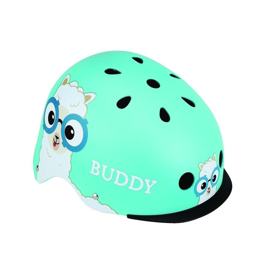 Globber Casque de vélo enfant Elite Lights Blue Buddy