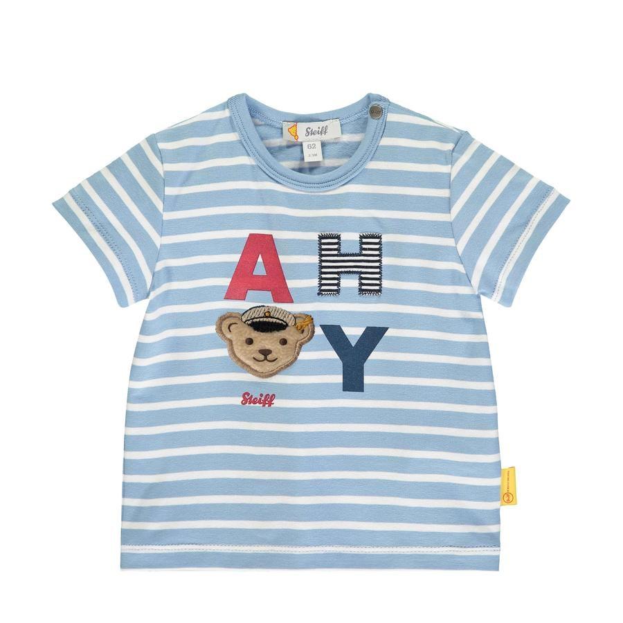 Steiff T-Shirt, forever blue gestreift