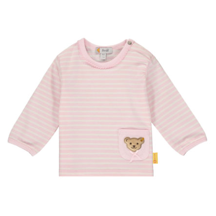 Steiff Shirt met lange mouwen, barely roze