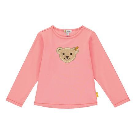 Steiff Langærmet t-shirt, geranium pink