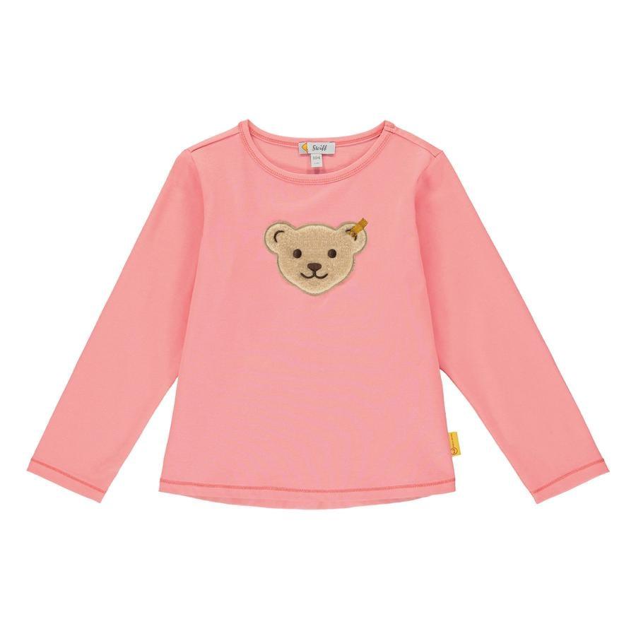 Steiff Camisa de manga larga, rosa geranio
