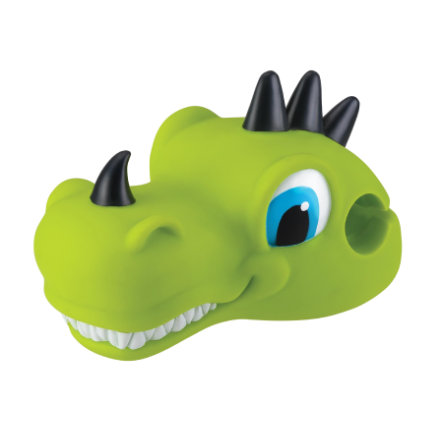 "AUTHENTIC DEPORTES Globber Scoot cabeza ""Dino"" verde"