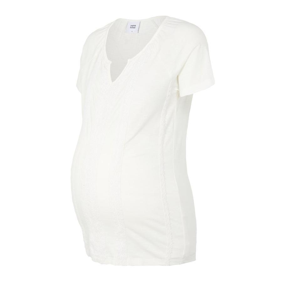 mamma  licious Maternity Shirt MLSABRINE Snow White