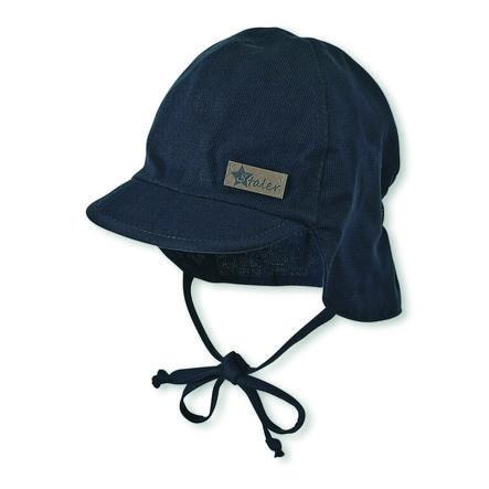 Sterntaler gorra de pico con protección para el cuello marine