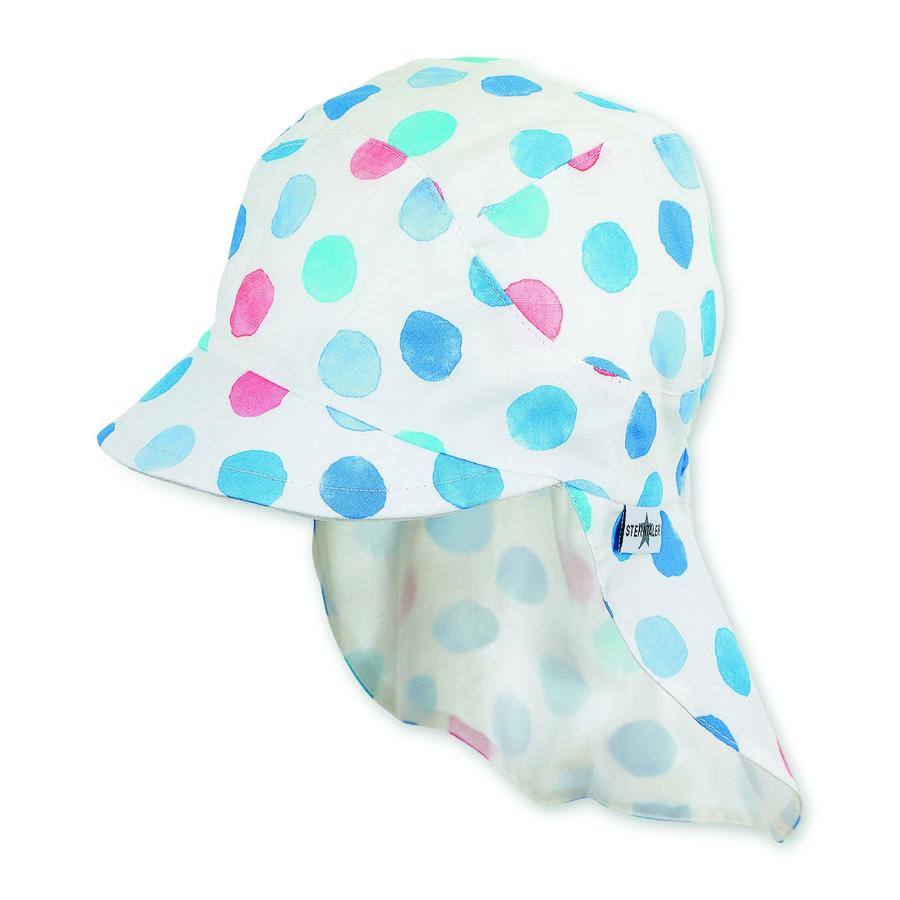 Sterntaler Schirmmütze mit Nackenschutz himmel