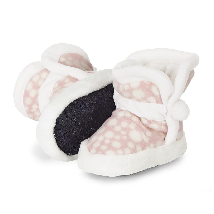 Sterntaler Girls Calzado de bebé rosa pálido