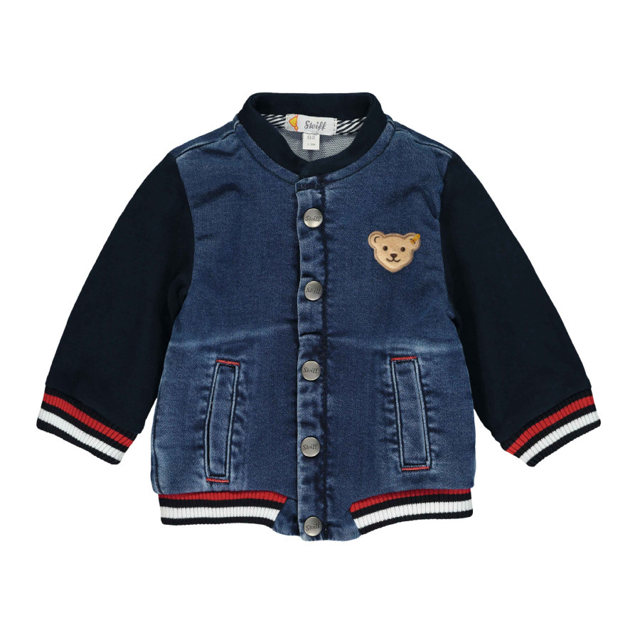 Steiff Sweatjacke, ensign blue