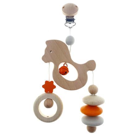 HESS Mini trapeshest, natur oransje