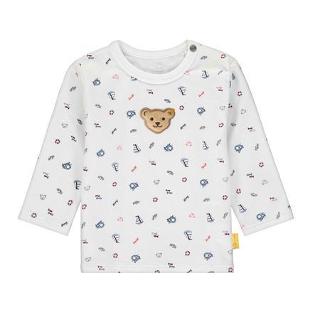 Steiff Shirt met lange mouwen, b right  white