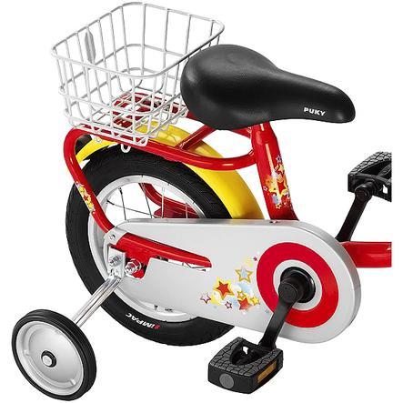 PUKY Cestino posteriore GK2 per bicicletta Z 2, colore argento
