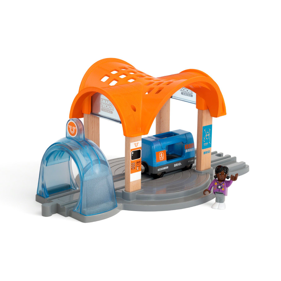 BRIO ® WORLD Smart Tech Action Tunnel Station