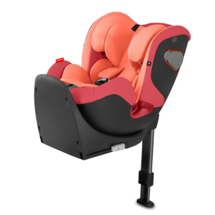 gb GOLD Silla de coche Convy-Fix Rose Red