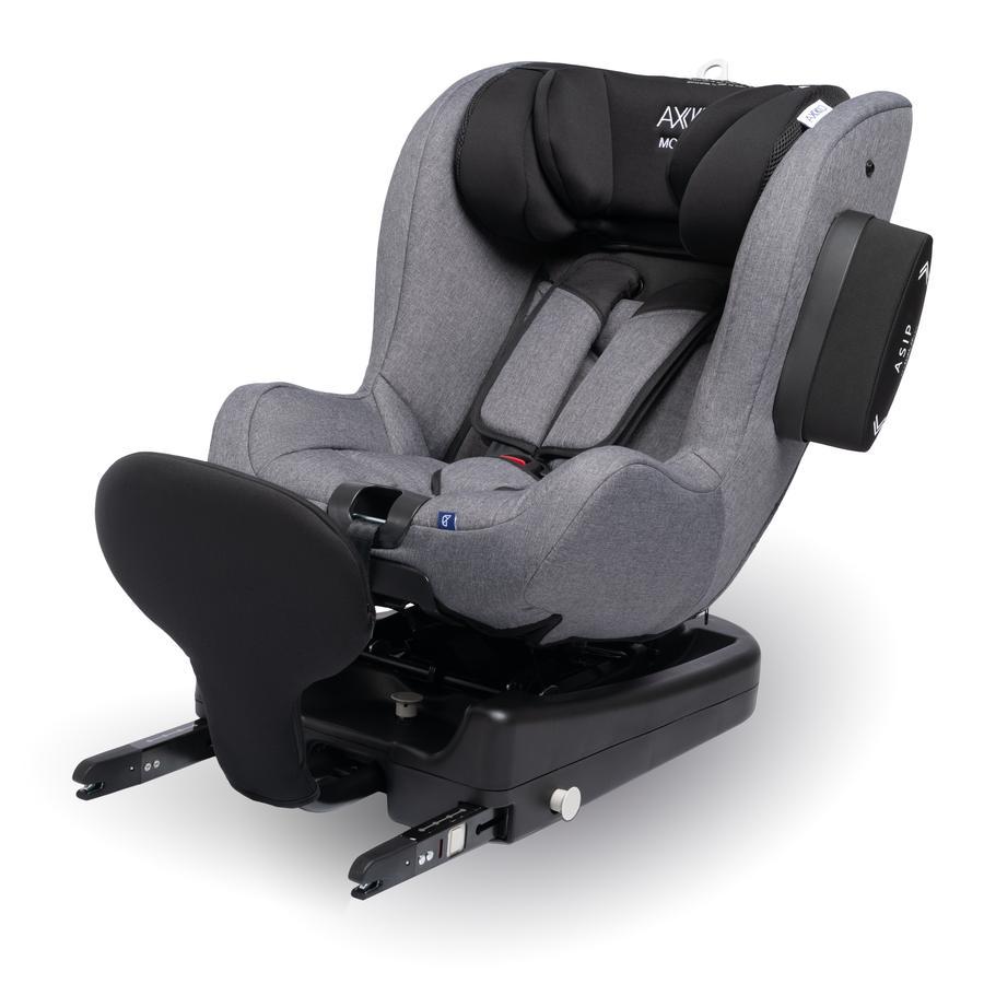 AXKID Autostoel Modukid i-Size met Basisstation Modukid grijs