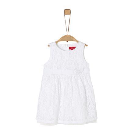 s. Oliv r klänning vit